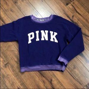 Victorias Secret PINK purple pullover sweatshirt